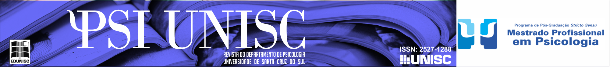 PSI UNISC - revista do departamento de psicologia - Universidade de Santa Cruz do Sul
